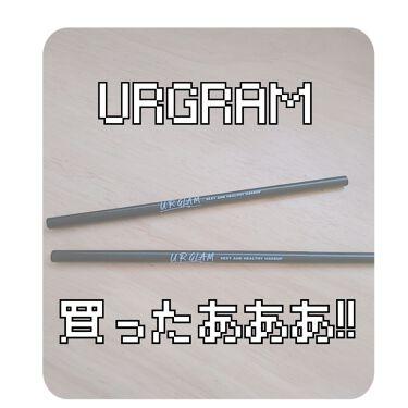 UR GLAM SLIM SKETCH EYEBROW PENCIL(スリムスケッチアイブロウペンシル)/DAISO/アイブロウペンシルを使ったクチコミ(1枚目)
