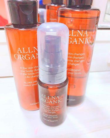 ALLNA ORGANIC 化粧水&美容液&乳液 スキンケア3点セット/ALLNA ORGANIC/美容液を使ったクチコミ(1枚目)