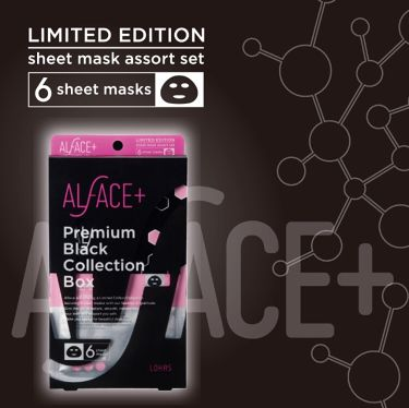 ALFACE+(オルフェス)公式アカウントさんの「ALFACE+(オルフェス)ピュアブラック アクアモイスチャー シートマスク<シートマスク・パック>」を含むクチコミ