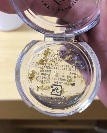 金箔ティントグロス 金華ゴールド リップグロスカラー/その他/リップグロスを使ったクチコミ(3枚目)