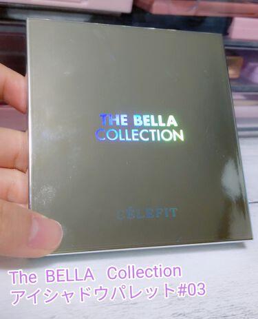 The Bella collection eyeshadow palette/CELEFIT/パウダーアイシャドウを使ったクチコミ(2枚目)