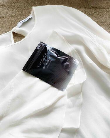 ホワイトロジスト オーバーナイト インナー プラス/COSME DECORTE/美肌サプリメントを使ったクチコミ(1枚目)