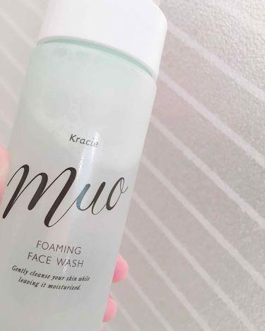泡の洗顔料/muo/洗顔フォームを使ったクチコミ(1枚目)
