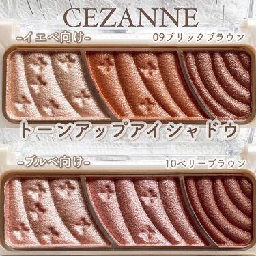 トーンアップアイシャドウ/CEZANNE/パウダーアイシャドウを使ったクチコミ(3枚目)