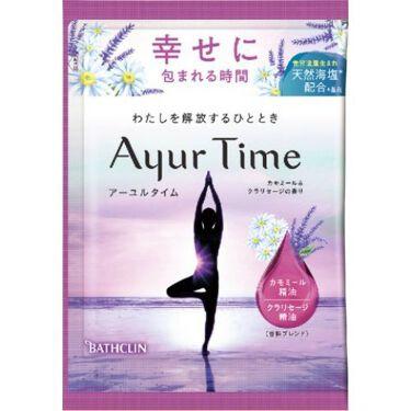 Ayur Time(アーユルタイム) カモミール&クラリセージの香り 40g