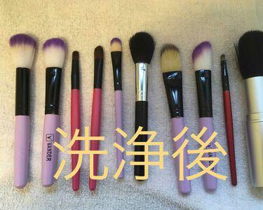 メイクブラシ専用クリーナー/DAISO/その他化粧小物を使ったクチコミ(3枚目)