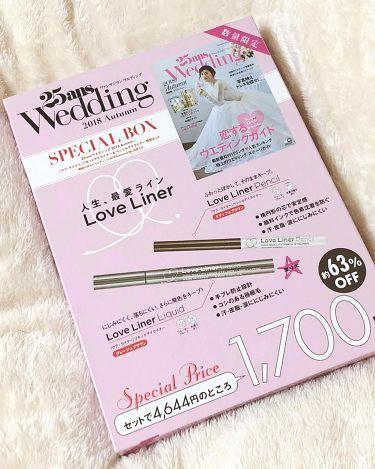 ヴァンサンカン Wedding 25anniversary SPECIALBOX/その他/書籍を使ったクチコミ(1枚目)