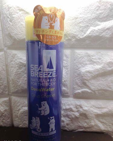 デオ&ウォーター アイスタイプ シトラスシャーベット/シーブリーズ/デオドラント・制汗剤を使ったクチコミ(2枚目)