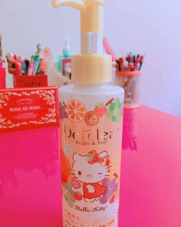 DETクリア ブライト&ピール ピーリングジェリー<ミックスフルーツの香り>/明色化粧品/ゴマージュ・ピーリングを使ったクチコミ(1枚目)