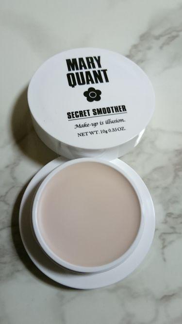 シークレット スムーザー/MARY QUANT/化粧下地を使ったクチコミ(2枚目)