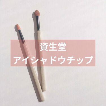アイカラーチップ・太 202/SHISEIDO/その他化粧小物を使ったクチコミ(1枚目)