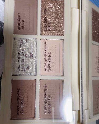 ハーシー プレイカラーアイズミニ/ETUDE/パウダーアイシャドウを使ったクチコミ(2枚目)