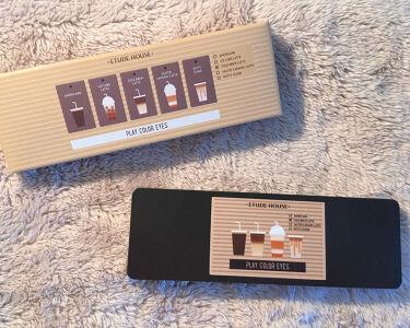 プレイカラー アイシャドウ カフェインホリック/ETUDE/パウダーアイシャドウを使ったクチコミ(2枚目)