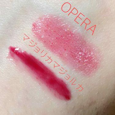 シアーリップカラー RN/OPERA/リップグロスを使ったクチコミ(3枚目)