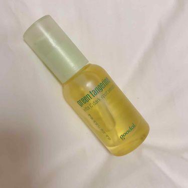 가 100%フォロバ☆さんの「CLIOgoodal green tangerine vita C dark spot serum<美容液>」を含むクチコミ