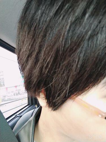 💞[NATHUMI]∞ on LIPS 「髪が伸びてモサモサ感がスゴかったので、思い切ってバッサリ切っち..」(2枚目)