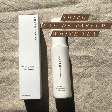 ホワイトティー オードパルファン/SHIRO/香水(レディース)を使ったクチコミ(1枚目)