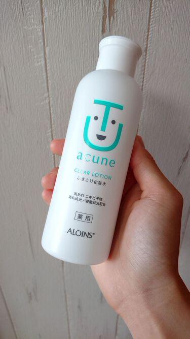 アキュネ 薬用ふきとり化粧水を使ったクチコミ(1枚目)