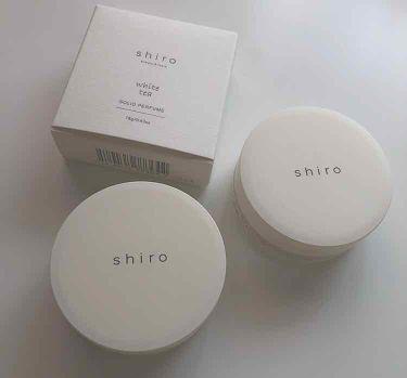 ホワイトティー 練り香水/shiro/香水(レディース)を使ったクチコミ(1枚目)