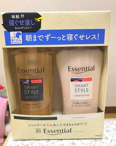 RURUさんの「エッセンシャルエッセンタンシャル /スマートスタイル<シャンプー・コンディショナー>」を含むクチコミ