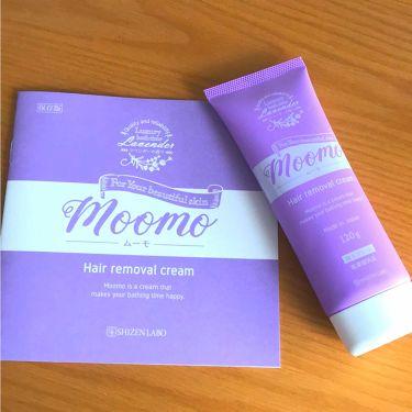 脱毛クリーム MOOMO/自然化粧品研究所/ボディ・バスグッズを使ったクチコミ(2枚目)