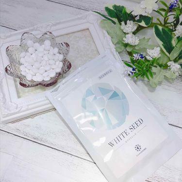 WHITE SEED(ホワイトシード)/フロムココロ/健康サプリメントを使ったクチコミ(2枚目)