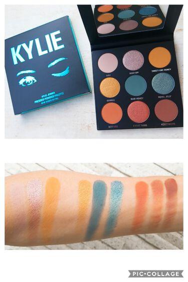 Blue Honey Palette/Kyshadow/Kylie Cosmetics/パウダーアイシャドウを使ったクチコミ(3枚目)