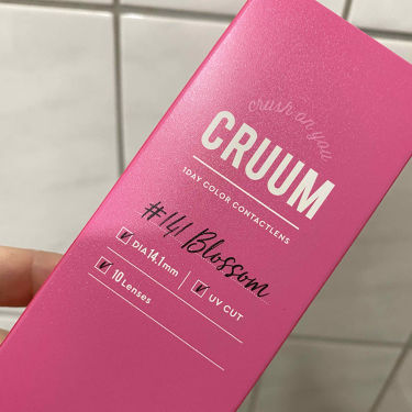 CRUUM 1day/CRUUM/カラーコンタクトレンズを使ったクチコミ(1枚目)