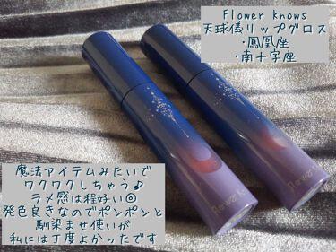 天球儀リップグロス/FlowerKnows/リップグロスを使ったクチコミ(1枚目)