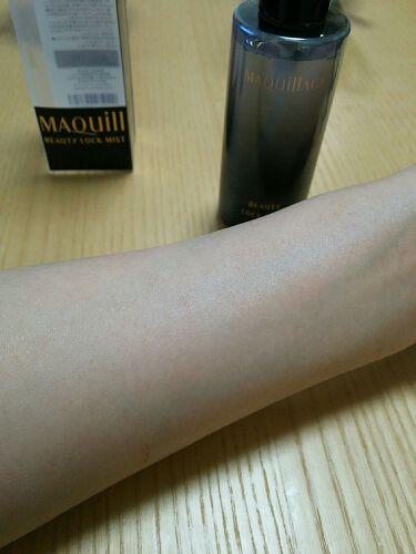 メイクアップフィクサー/マキアージュ/ミスト状化粧水を使ったクチコミ(3枚目)