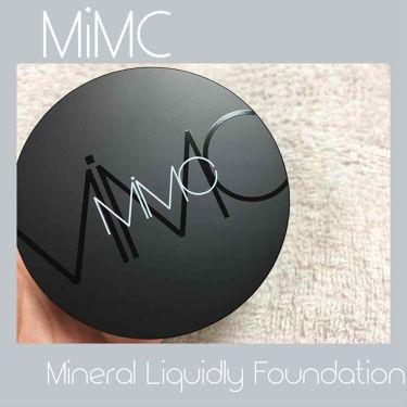 ミネラルリキッドリー ファンデーション SPF22 PA++/MiMC/リキッドファンデーションを使ったクチコミ(1枚目)