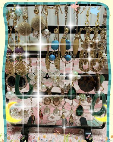 【画像付きクチコミ】#本日のピアス#強い女メイクピアスは#スリコや#DAISOでは買わないかなぁ…↑↑↑何となくね☆°。⋆⸜(*॑꒳॑*)⸝ꉂ(,,´ლ`,,)<ब<ब500円〜1000円くらいの買います❤(^o^)👌❤#ピアス#セリア#アクセサリースタ...