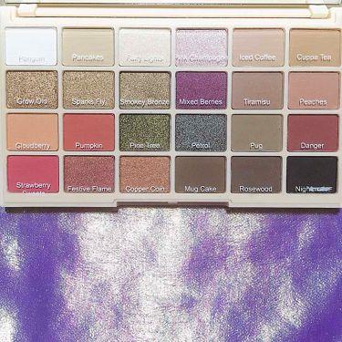 Revolution Soph Eyeshadow Palette/MAKEUP REVOLUTION/パウダーアイシャドウを使ったクチコミ(2枚目)