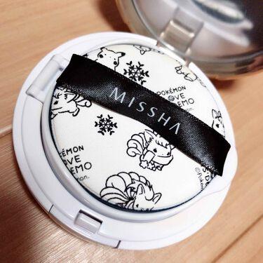 M クッションファンデーション(スターダスト)/MISSHA/クッションファンデーションを使ったクチコミ(2枚目)