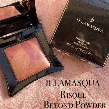 beyond powder/Illamasqua/ハイライトを使ったクチコミ(1枚目)