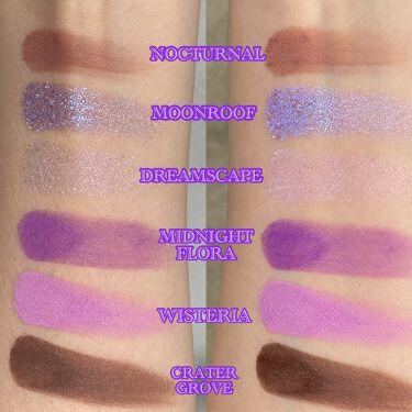 万華鏡未来主義RAINBOWアイシャドウパレット/Kaleidos Makeup/パウダーアイシャドウを使ったクチコミ(2枚目)