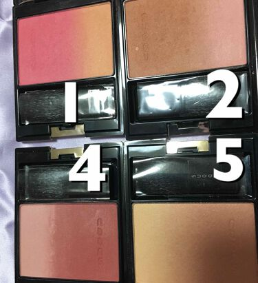 ピュア カラー ブラッシュ/SUQQU/パウダーチークを使ったクチコミ(2枚目)