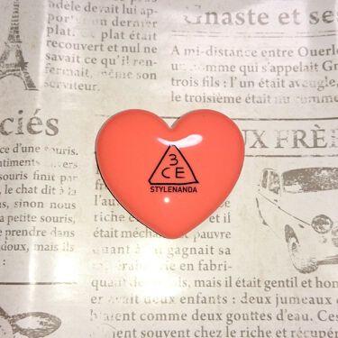HEART POT LIP/3CE/口紅を使ったクチコミ(1枚目)