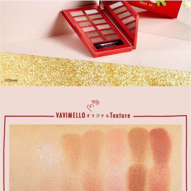 <Mickey&Minnie> Holiday Edition Gift Box/VAVI MELLO/パウダーアイシャドウを使ったクチコミ(4枚目)