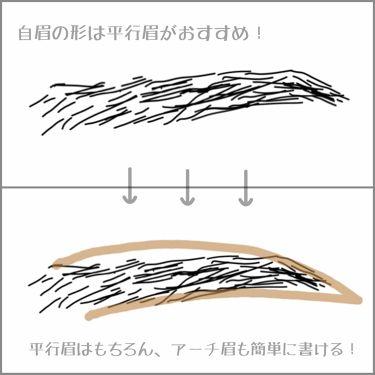 アイブロー ペンシル くり出し式/ちふれ/アイブロウペンシルを使ったクチコミ(3枚目)