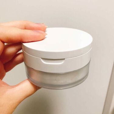 ミラー付ルースパウダー用ケース/無印良品/その他化粧小物を使ったクチコミのサムネイル(1枚目)