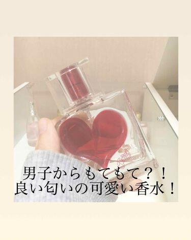 【画像付きクチコミ】【匂いフェチのかた必見❗️】今回は私のお気に入りの香水をご紹介します🙂----------------------------------------------------------✔名前✨#ジューシースゥイートシックスティーンオ...