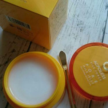 アクポレス ポアミルクジェリー/ライスフォース/美容液を使ったクチコミ(1枚目)