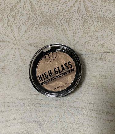 ハイグラス イルミネイティング パウダー/NYX Professional Makeup/ハイライトを使ったクチコミ(1枚目)