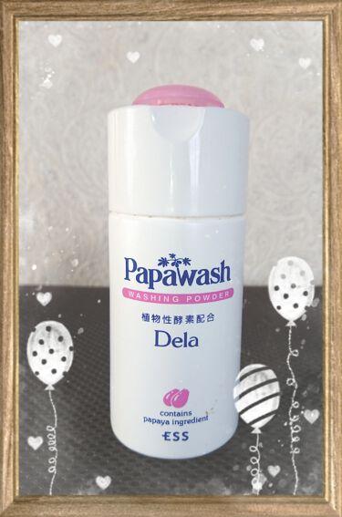 パパウォッシュ・デラ/パパウォッシュ/洗顔パウダーを使ったクチコミ(1枚目)