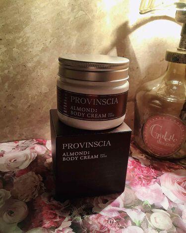 プロバンシア フレグランスボディクリーム アーモンドの香り/ペリカン石鹸/ボディクリームを使ったクチコミ(2枚目)