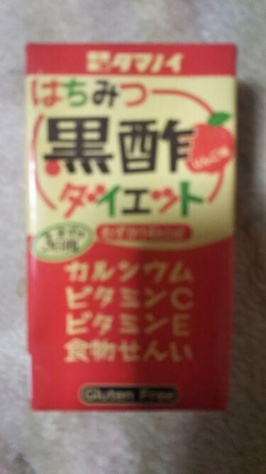 ハチミツ黒酢ダイエット/タマノイ/ドリンクを使ったクチコミ(1枚目)