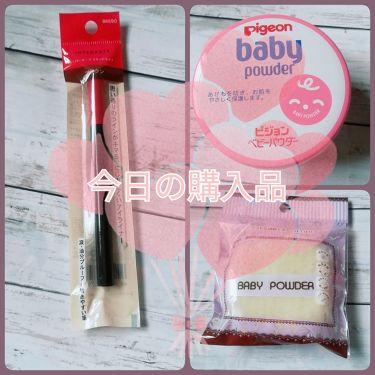 ベビーパウダーEピンク缶/ピジョン/デオドラント・制汗剤を使ったクチコミ(1枚目)