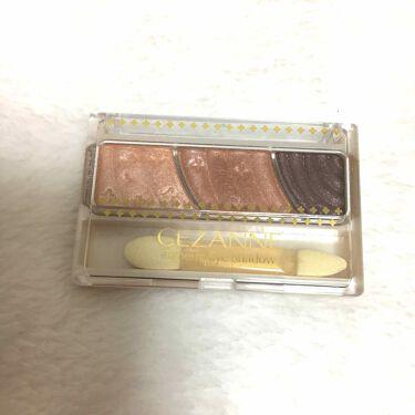 トーンアップアイシャドウ/セザンヌ/パウダーアイシャドウを使ったクチコミのサムネイル(1枚目)