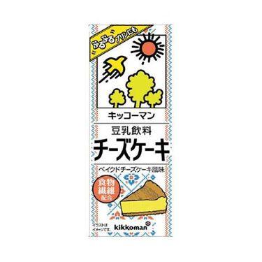 豆乳飲料 チーズケーキ キッコーマン飲料